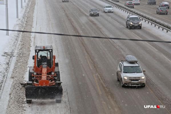 Сегодня на Башкирию вновь обрушился снегопад