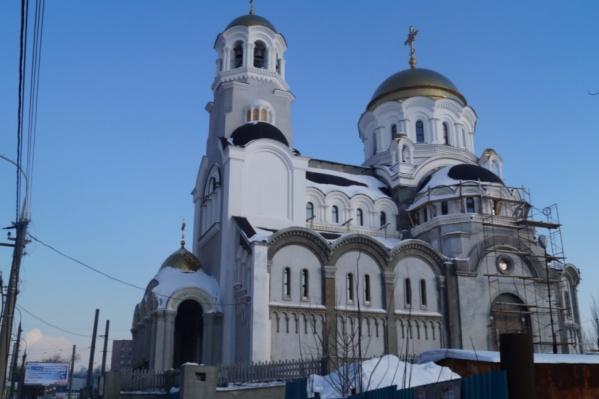 Храм Всех Святых находится на улице Тухачевского<br>