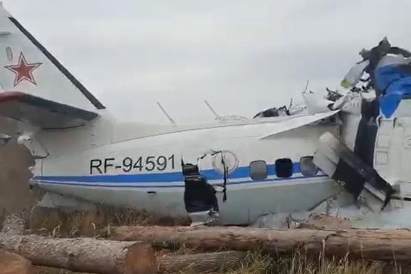 """Самолет в Мензелинске упал утром <nobr class=""""_"""">10 октября</nobr>"""