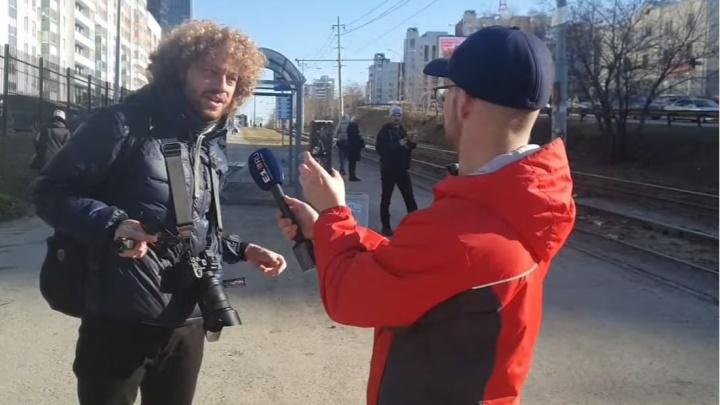 Илья Варламов в прямом эфире разносит благоустройство Екатеринбурга
