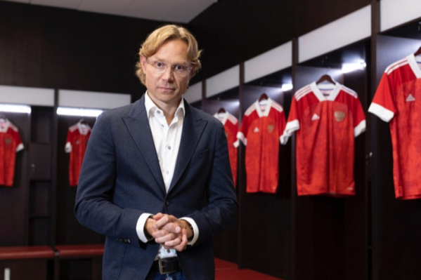 Карпин возглавляет сборную России с конца июля 2021 года