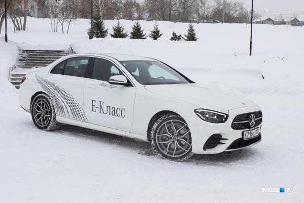 Обновленный Mercedes-Benz E-Class