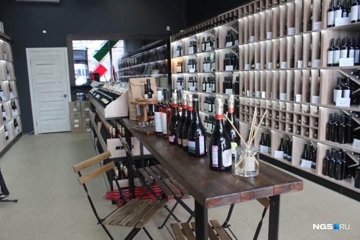 В фирменном магазине «Фанагория»