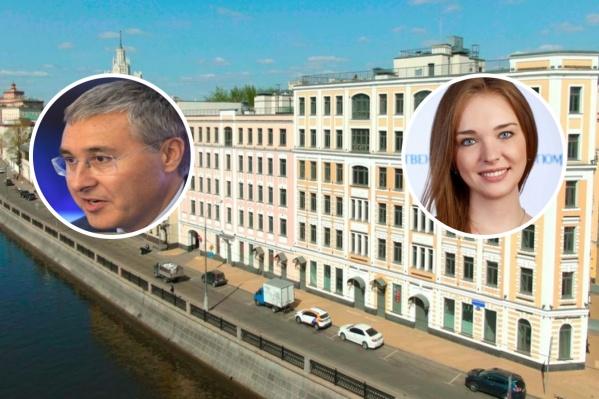 Валерий Фальков и Елена Дружинина живут в одном доме в центре Москвы
