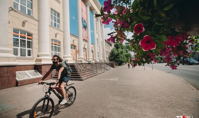 Тюменские власти потратят 28 миллионов рублей на городской велошеринг