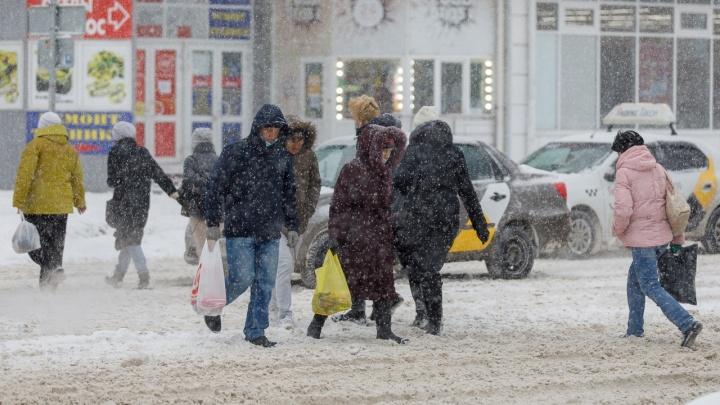 Волгоград готовится к очередному аномальному снегопаду
