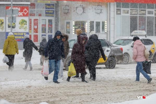 Снег, по прогнозам синоптиков, будет идти два дня
