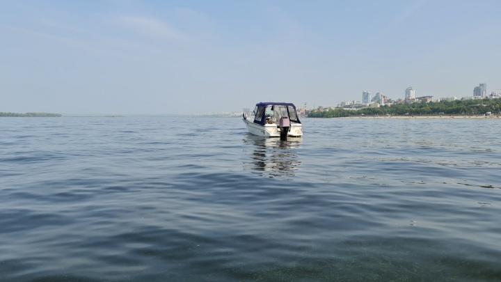 В Самаре нашли катер, который затонул после столкновения с баржей