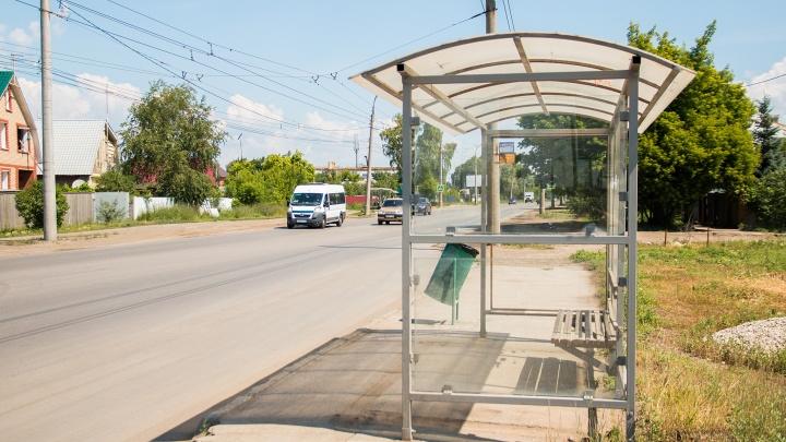 В Самаре перенесли остановки общественного транспорта