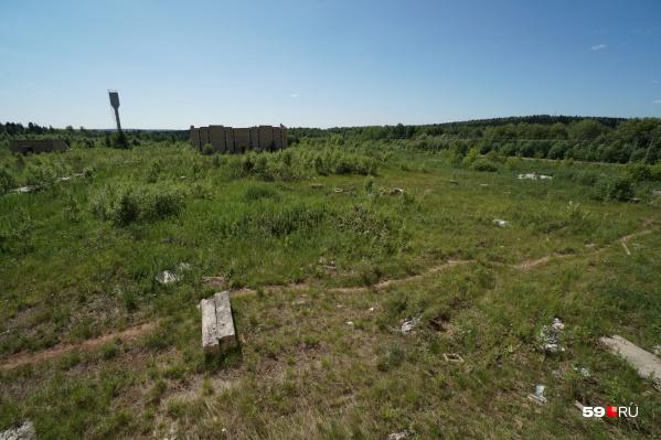 Новое кладбище организуют в Мотовилихинском районе рядом с недостроенным крематорием