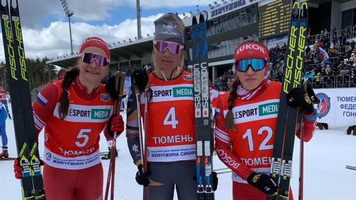 Лыжница Архангельской области Наталья Непряева завоевала серебро на чемпионате России