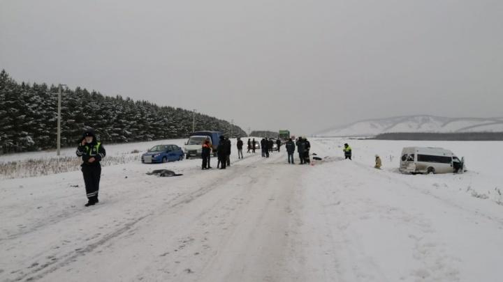 Полные автобусы детей: стали известны личности пострадавших и погибших в ДТП на трассе в Башкирии