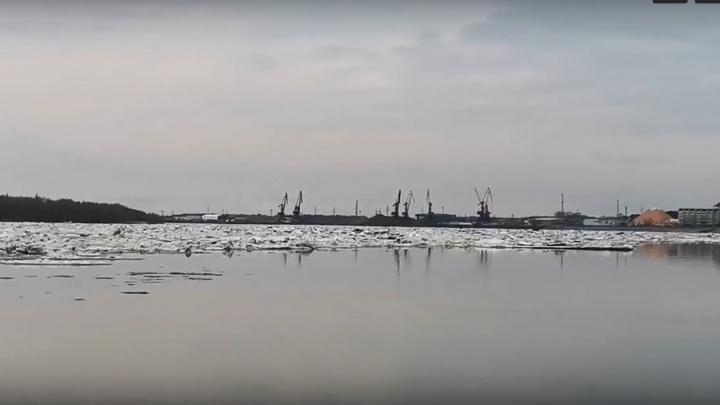 Всё идет по плану: в Нижневартовск пришел «большой» ледоход. Публикуем видео