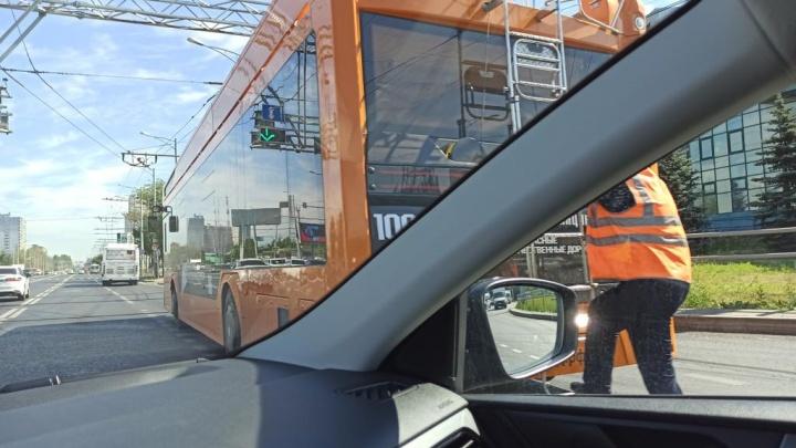 В дептрансе Самары назвали причины частых поломок новых троллейбусов