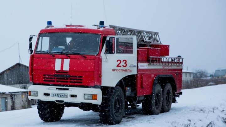 В Рыбинске в пожаре погибли четыре человека. Среди них могут быть дети