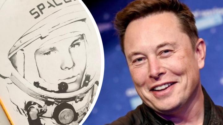 Уфимский художник планирует отправить свою картину в космос на корабле Илона Маска
