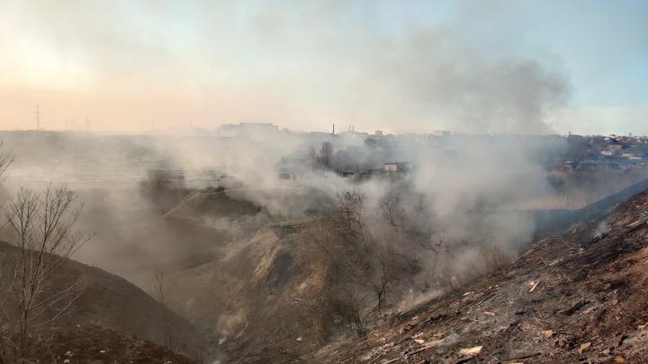 В Волго-Ахтубинской пойме потушены крупные пожары. Пострадали жилые дома