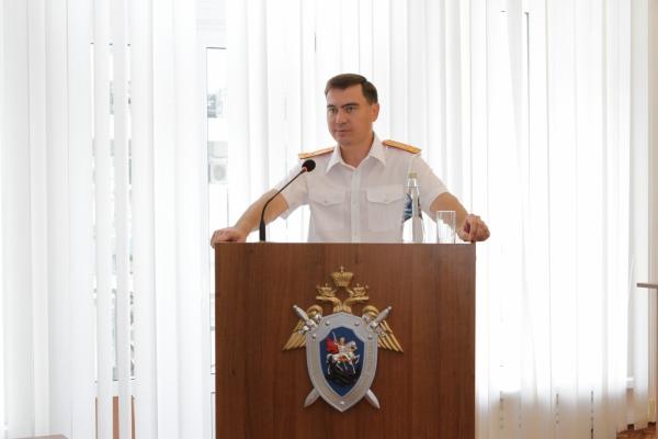 В Самаре представили нового руководителя регионального СУ СКР