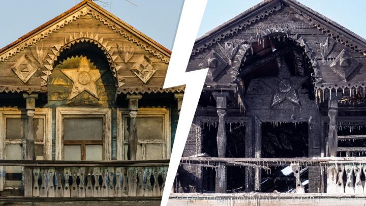 Прощай, домик с мезонином?! Почему нужно спасать сгоревшее в Тюмени деревянное здание
