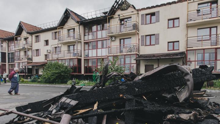 После пожара в «Залесье» разбираемся с экспертами, обязательна ли защита от молний в таких домах