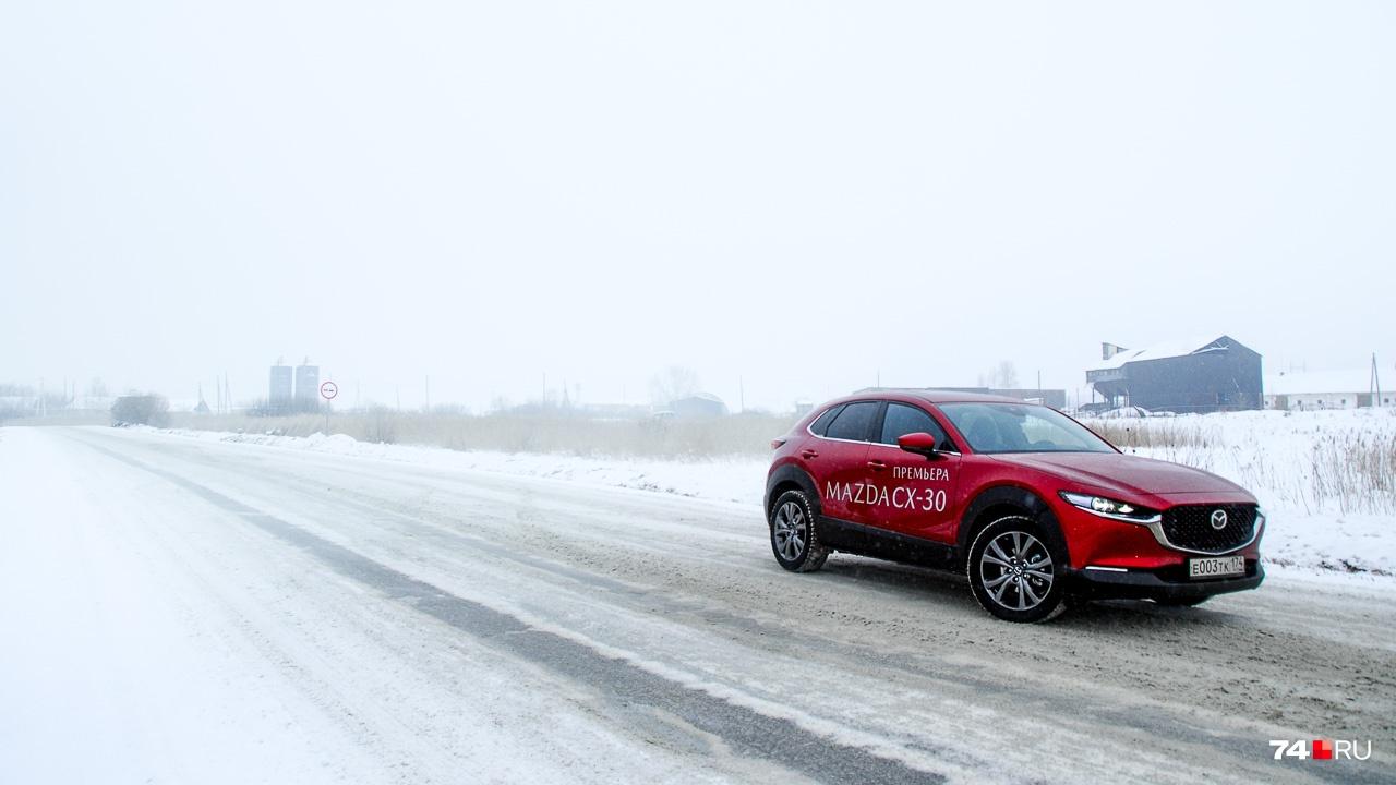 Автомобиль собирается в России на заводе Mazda Sollers