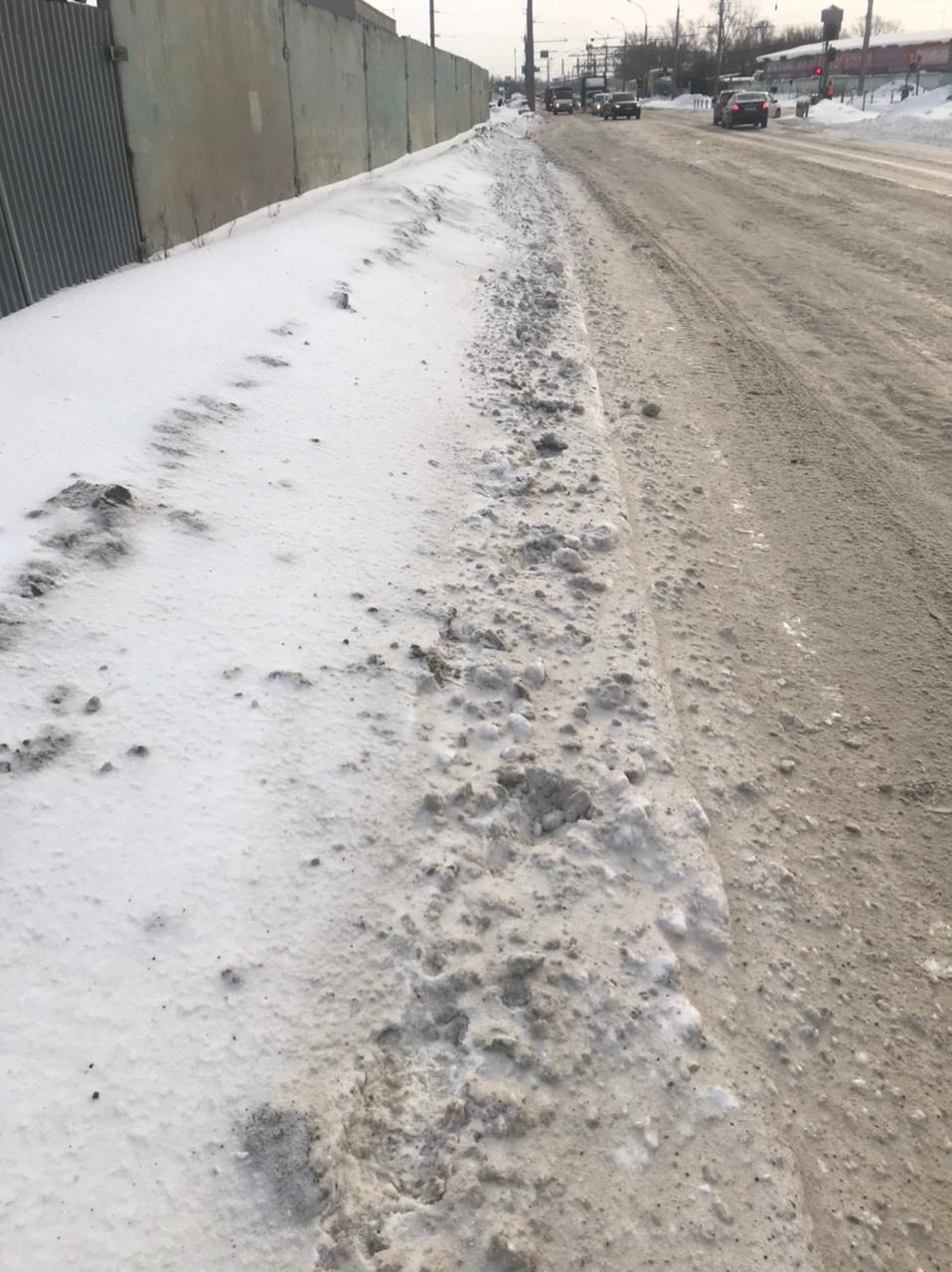 Ленинский район, 2-я Станционная: — Люди идут вдоль дороги, снегом заметает. Никто не чистит, — написала читательница&nbsp;<br>