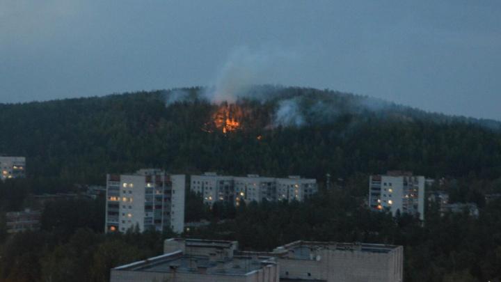 «Огонь подходит к домам»: жители Новоуральска просят помочь потушить лесной пожар