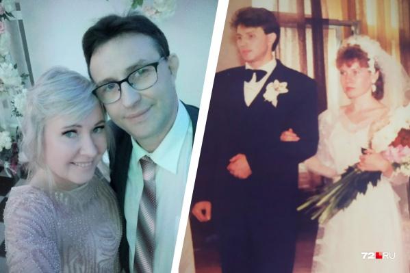 Семья Фокиных счастлива уже почти 30 лет: свою свадьбу они праздновали в огороде