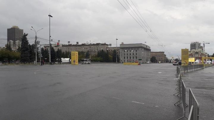 Центр Новосибирска перекрыли для полумарафона памяти Раевича
