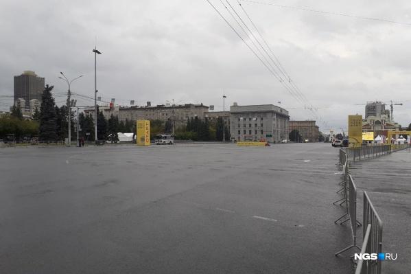 Участникам придется бежать под дождем