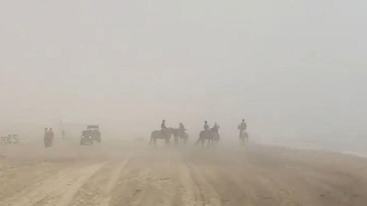 Анапу и Геленджик в середине дня накрыл плотный туман. Метеоролог объяснила, что это было