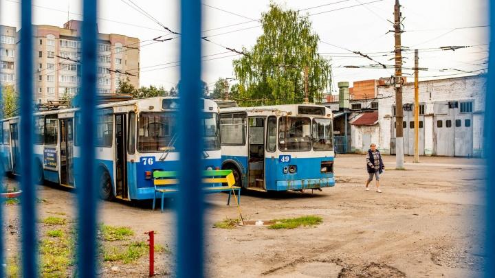 Перспективная стройка: кто стоит за сносом троллейбусного депо в центре Ярославля. Схема и связи