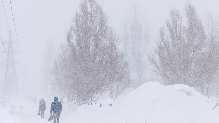 «Плотно закройте окна»: МЧС предупредило о сильной метели в Самарской области