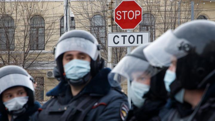 Протестная суббота в Волгограде: как прошла масштабная несанкционированная акция в центре города