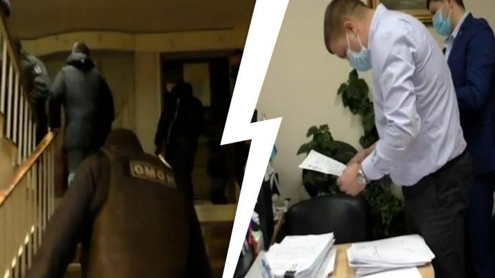 ОМОН нагрянул в вуз: появилось видео обысков из самарского университета путей сообщения