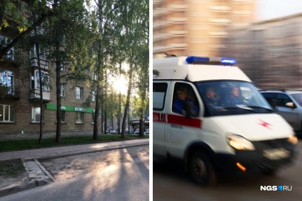 Инцидент произошел в 15:40 на улице Терешковой, 32. Мать, которая шла рядом, не пострадала