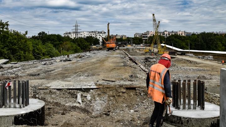Как Челябинск наводит мосты: смотрим на стройку года и новую зону успокоенного движения