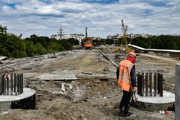Вот так выглядит Ленинградский мост сейчас