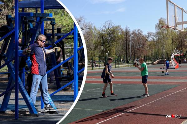 Заниматься можно и на улице. В последние годы в нашем городе со спортивной инфраструктурой стало заметно лучше