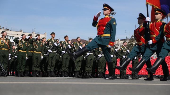 В Самаре состоялся парад Победы