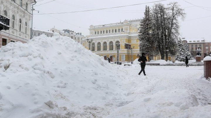 В 2018-м было хуже: метеорологи оценили обрушившийся на Нижегородскую область снегопад