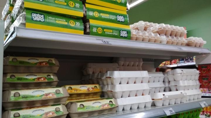 «Достигли предела»: омский ритейлер прокомментировал рост цен на яйца и сахар
