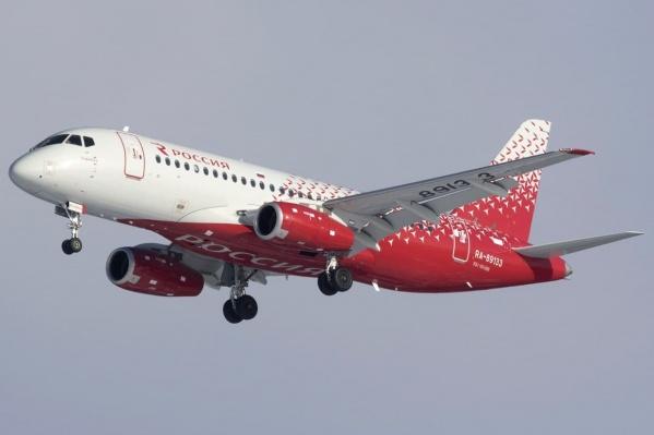 Самолет «нарезал» несколько кругов, прежде чем сесть в Шереметьево