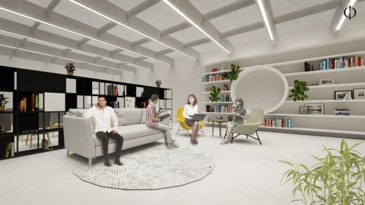 ПГНИУ откроет коворкинг, оформленный по проекту дизайн-завода «Флакон»