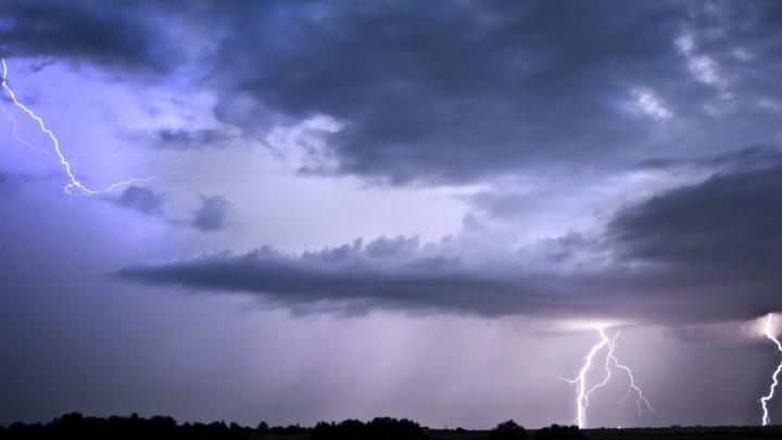 Экстренное предупреждение МЧС: в Ярославской области ожидается гроза и сильный ветер