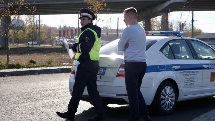 В Челябинске возле автовокзала водитель иномарки сбил пешехода