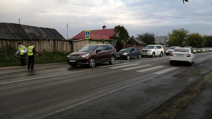 В Горном Щите Honda сбила 11-летнюю девочку, которая спешила на автобус. Видео