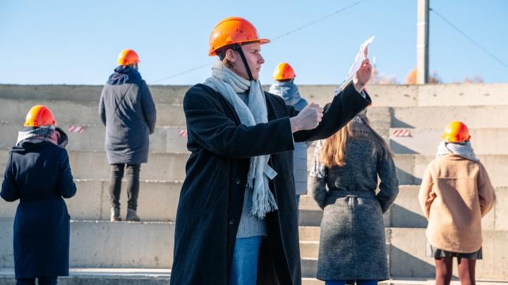 «Не на своем месте»: серия перформансов прошла в Кемерове