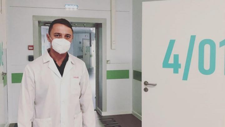 Врач «красной» зоны Глеб Глебов пригласил главу Минздрава Башкирии на прямой эфир
