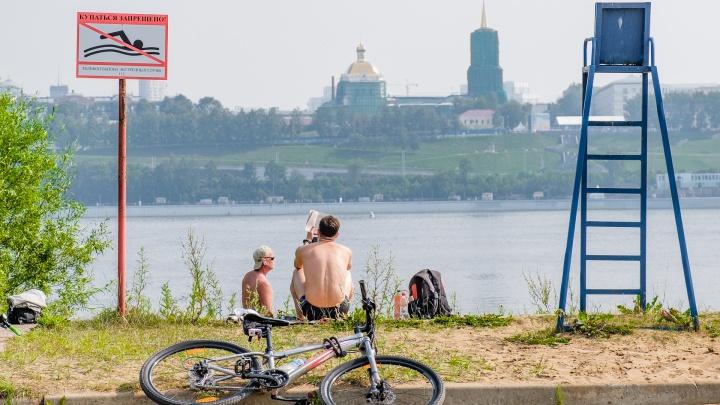 Отремонтировали питьевые фонтанчики, поставили биотуалеты: в Перми пять пляжей подготовили к летнему сезону